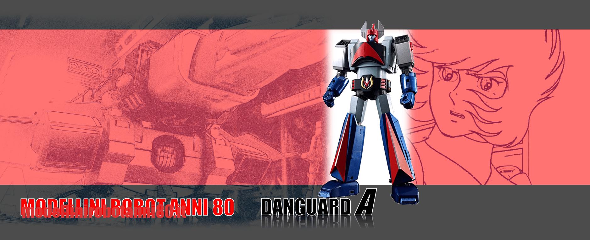 Modellini robot anni 80 Danguard 2