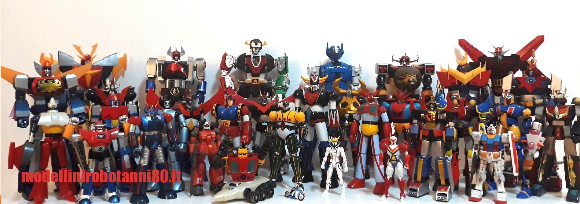 modellini robot anni 80 - collezione robottoni giapponesi