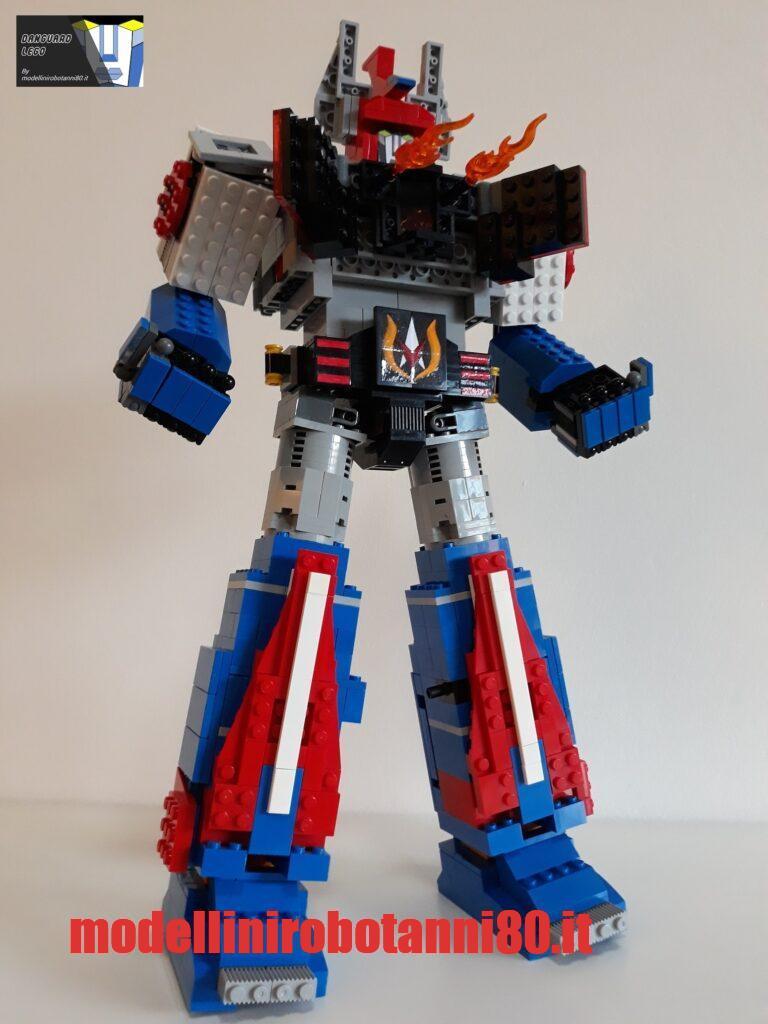 MODELLINO DANGUARD LEGO CANNONI BALKAN