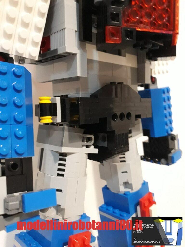 modellino Danguard LEGO attacco cosce