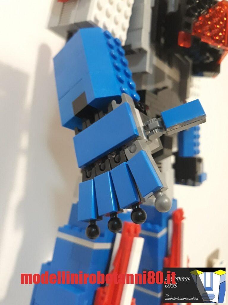 modellino Danguard LEGO dita mobili
