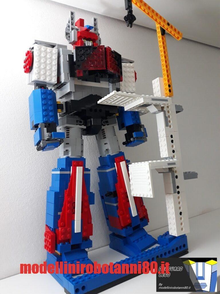 Danguard LEGO 40 cm lavori in corso