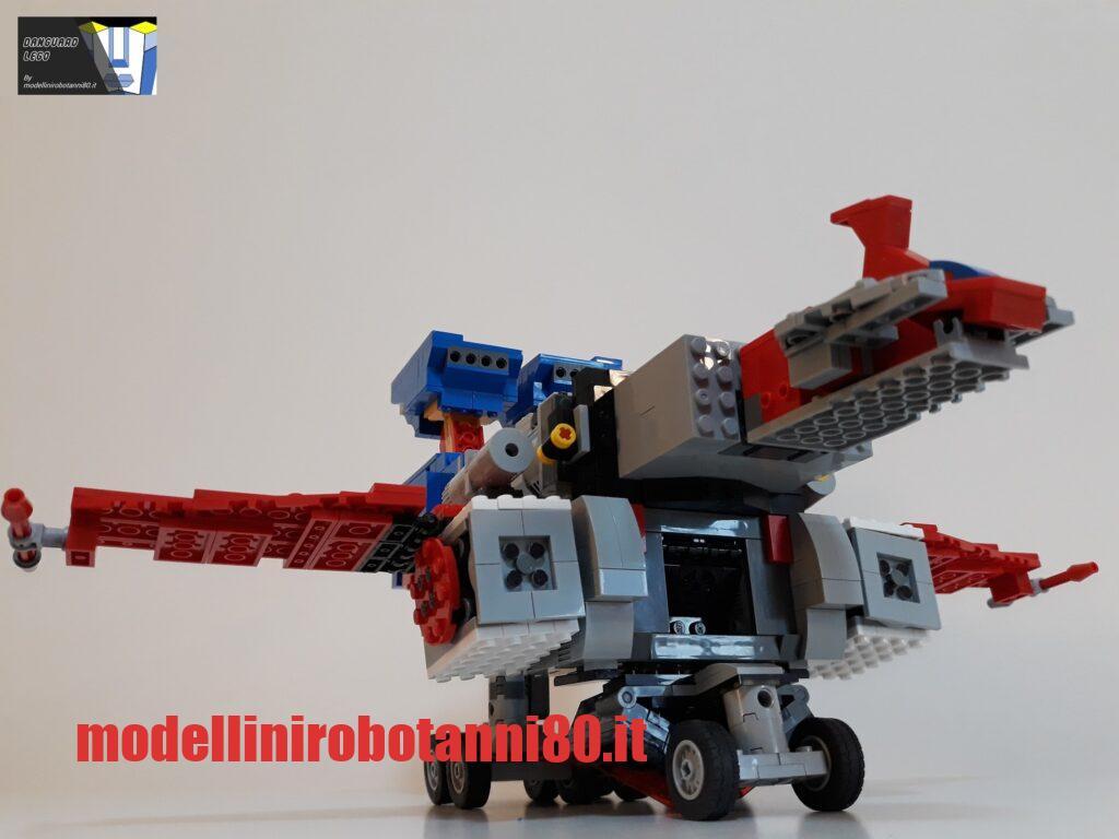 MODELLINO-DANGUARD LEGO SATELLIZZATORE