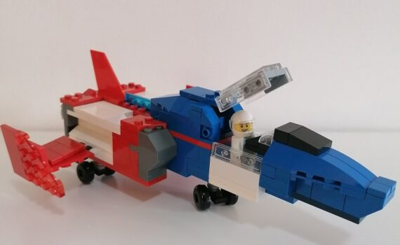 GUNDAM LEGO CORE FIGHTER COCKPIT